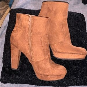Mossimo heeled ankle boots